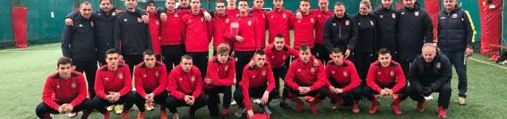 Echipe under 19 antrenament la Club Argman